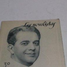Libros antiguos: FELIPE SASSONE: CAMBIO.. (AVENTURA DE AMOR). ILUSTRACIONES DE PENAGOS. LOS NOVELISTAS. Nº 6. 1928. . Lote 45535992