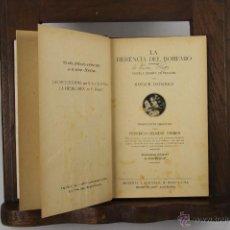 Libros antiguos: 5533- LA HERENCIA DEL BOHEMIO. ROGER DOMBRE. IMP. ROIG Y CIA. SIN FECHA. . Lote 46033680