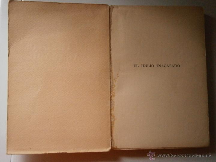 Libros antiguos: EL IDILIO INACABADO TORRALBA DE DAMAS Atenas 1928 - Foto 6 - 46712768