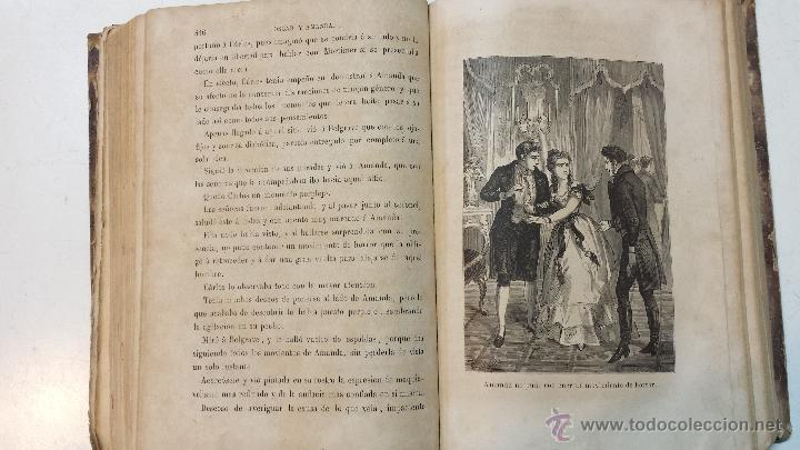 Libros antiguos: OSCAR Y AMANDA. POR REGINA MARIA ROCHE. ESPASA HNOS EDITORES. AÑO 1868. 2 VOLUMENES.VER - Foto 6 - 47776528