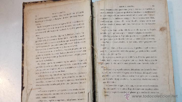 Libros antiguos: OSCAR Y AMANDA. POR REGINA MARIA ROCHE. ESPASA HNOS EDITORES. AÑO 1868. 2 VOLUMENES.VER - Foto 9 - 47776528