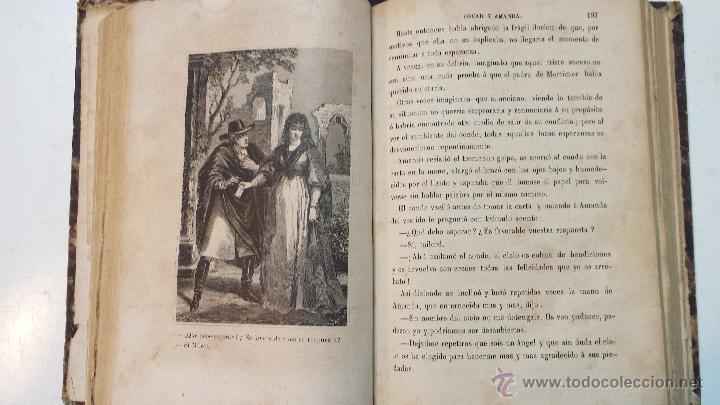 Libros antiguos: OSCAR Y AMANDA. POR REGINA MARIA ROCHE. ESPASA HNOS EDITORES. AÑO 1868. 2 VOLUMENES.VER - Foto 10 - 47776528