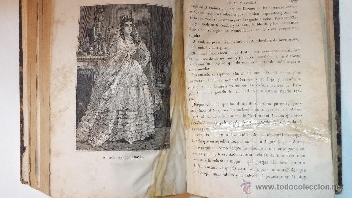 Libros antiguos: OSCAR Y AMANDA. POR REGINA MARIA ROCHE. ESPASA HNOS EDITORES. AÑO 1868. 2 VOLUMENES.VER - Foto 11 - 47776528