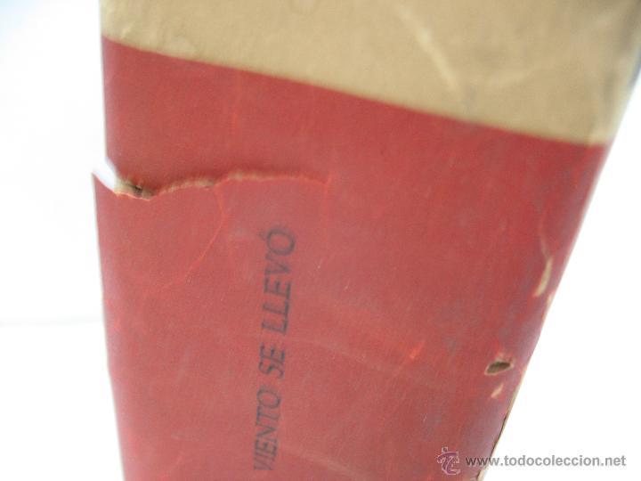 Libros antiguos: Libro Lo que el viento se llevó Margaret Mitchell Editor José Janés Barcelona - Foto 4 - 47889298