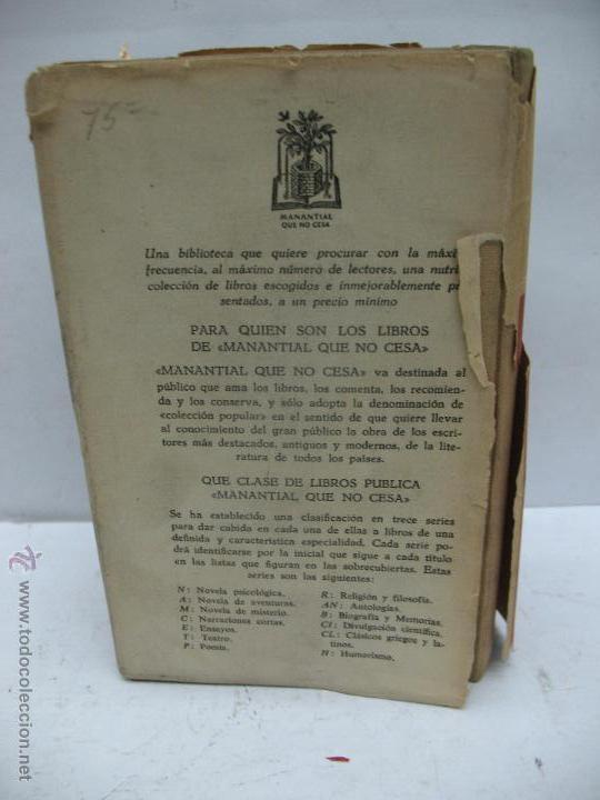Libros antiguos: Libro Lo que el viento se llevó Margaret Mitchell Editor José Janés Barcelona - Foto 5 - 47889298