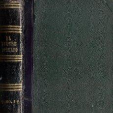 Libros antiguos: PAUL DE KOCK - EL HOMBRE INCULTO Y EL CIVILIZADO - AÑO CA. 1880.. Lote 48345316