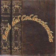 Libros antiguos: LOS JURAMENTOS DE AMOR (2 TOMOS), ANTONIO DE PADUA, LA ILUSTRACION, 1874. Lote 48359357