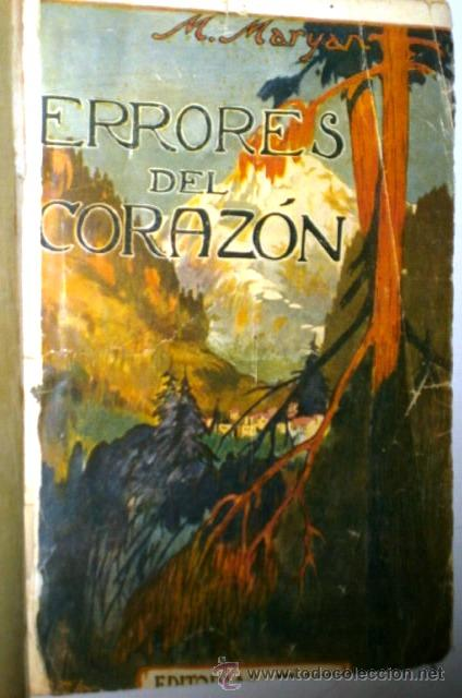 Libros antiguos: Errores del corazón por M. Maryan de Editorial Eva en Madrid s/f (1900) - Foto 2 - 48467051