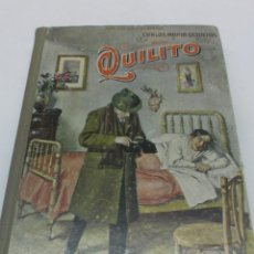 Libros antiguos: CARLOS MARIA OCANTOS: QUILITO. BIBLIOTECA SOPENA, 284 PAGS. TAPA DURA BIEN CONSERVADO.. Lote 48625199