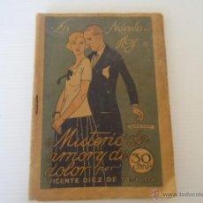 Libros antiguos: ANTIGUO LIBRITO LA NOVELA DE HOY MISTERIO DE AMOR Y DE DOLOR VICENTE DIEZ TEJADA 1924. Lote 49453407