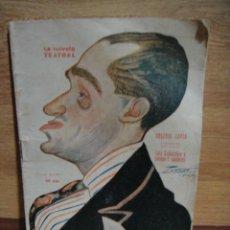 Libros antiguos: ARSENIO LUPIN - LUIS GABALDON Y ENRIQUE GUTIERREZ - SERIE LA NOVELA TEATRAL Nº 332 - AÑO 1923. Lote 49692355
