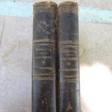 Libros antiguos: LAS OBRAS DE MISERICORDIA TOMOS 1 Y 2 ENRIQUE PEREZ ESCRICH -1864 Y 1865. Lote 50031359