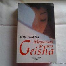 Libros antiguos: MEMORIAS DE UNA GEISHA. Lote 51765932