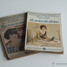 Libros antiguos: LA NOVELA ROSA - LA SEÑORITA ORLIS DE HENRY ARDEL Y UNA TIÍTA MODERNA DE BERTA RUCK 1924. Lote 52655763