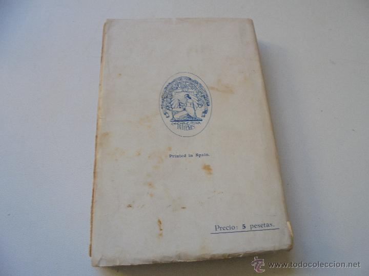 Libros antiguos: CANDELABRO, NOVELA-CONCHA ESPINA-1933-LIBRERÍA Y CASA EDITORIAL HERNÁNDO- - Foto 4 - 52965452