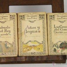 Libros antiguos: 6958 - OBRAS COMPLETAS DE GABRIEL MIRÓ.3 VOLUM(VER DESCRIP). BIBLI. NUEVA. 1926-29.. Lote 152425350