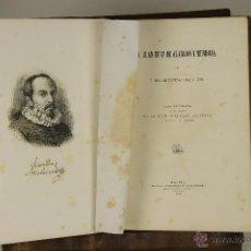 Libros antiguos: 6986 - JUAN RUIZ DE ALARCON Y MENDOZA. FERNANDEZ-GUERRA Y ORBE. IMP. ES. RIVADENEYRA. 1871.. Lote 52357789