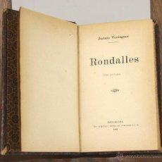 Libros antiguos: 6933 - RONDALLES. JACINTO VERDAGUER. TIP. L'AVENÇ. 1905.. Lote 51943924