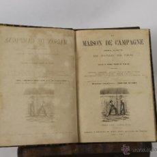 Libros antiguos: 6585 - LA MAISON DE CAMPAGNE. ÉDOUARD LE FORT. 5 VOLUM. IMP. MAURICE LOIGNON. 1861/1866.. Lote 49895387