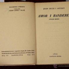 Libros antiguos: 6680 - QUADERNS LITERARIS. 27 EJEM.(VER DESCRIP). VV. AA. EDIC. ROSA DELS VENTS. 1936.. Lote 50046859