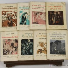 Libros antiguos: 6681 - QUADERNS LITERARIS-NOVEL-LES I NOVEL-LISTES. 17 EJEM.(VER DESCRIP). VV. AA. 1935.. Lote 50047134