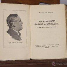 Libros antiguos: LP-133 - QUADERNS LITERARIS. 4 EJEM.(VER DESCRIP). VV. AA. EDIC. ROSA DELS VENTS. 1936.. Lote 50047347