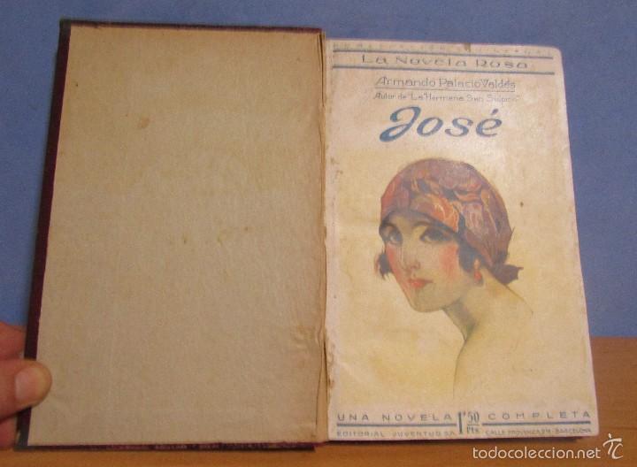 LA NOVELA ROSA JOSE -ARMANDO PALACIOS VALDES- 1º DE FEBRERO DE 1924 ENCUADERNADA (R. CHULIA VALEN) (Libros antiguos (hasta 1936), raros y curiosos - Literatura - Narrativa - Novela Romántica)
