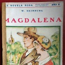Libros antiguos: W. HEIMBURG . MAGDALENA . JUVENTUD 1928. Lote 55715385