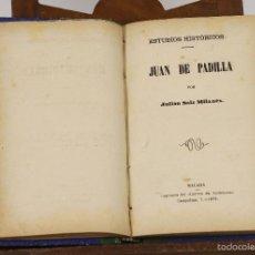 Libros antiguos: 7326 - IMPRENTA DEL CORREO DE ANDALUCÍA. VARIAS NOVELAS EN UN TOMO. 1878-1883.. Lote 55754391