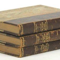 Libros antiguos: 7347 - A L'OMBRE DES JEUNES FILLES EN FLEURS. 3 TOMOS(VER DESCRIP). LIB. GALLIMARD. 1930.. Lote 56056064