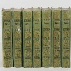 Libros antiguos: 7393 - SERIE SALGARI. 7 VOLUM(VER DESCRIP). EMILIO SALGARI. EDI. S. CALLEJA. S/F.. Lote 56233403