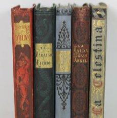 Libros antiguos: 7417 - BILIOTECA AMENA E INSTRUCTIVA. 5 VOLUM (VER DESCRIP). VV. AA. 1882-83.. Lote 56277010