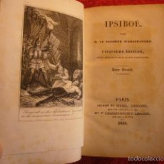 Libros antiguos: VICOMTE D'ARLINCOURT: - IPSIBOE - (TOMO II) (PARIS, PICHON ET DIDIER, 1829). Lote 56326706