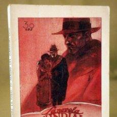 Libros antiguos: LA NOVELA MUNDIAL, Nº 64, EL HOMBRE DEL SOMBRERO GRIS, RAFAEL LOPEZ DE HARO, MADRID 1927. Lote 56427006