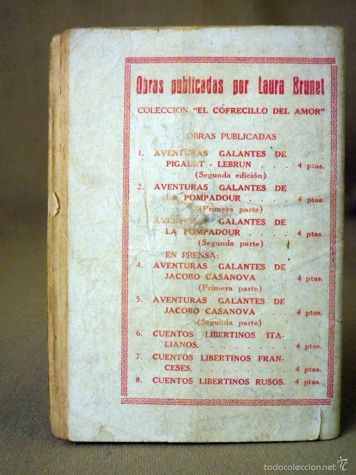 Libros antiguos: LA NOVELA NUEVA, Nº 7, POR LEY DIVINA, LAURA BRUNET, IMPRENTA LAIETANA, BARCELONA 1926 - Foto 3 - 56428478