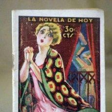 Libros antiguos: LA NOVELA DE HOY, Nº 357, ED. ATLANTIDA, MEMORIAS DE UN MEDICO, ARTEMIO PRECIOSO, MADRID 1926. Lote 56429434