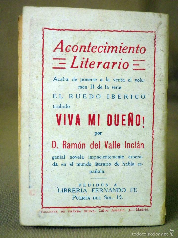 Libros antiguos: LA NOVELA DE HOY, Nº 357, ED. ATLANTIDA, MEMORIAS DE UN MEDICO, ARTEMIO PRECIOSO, MADRID 1926 - Foto 3 - 56429434