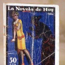 Libros antiguos: LA NOVELA DE HOY, Nº 266, ED. ATLANTIDA, LO HORRIBLE, EDUARDO ZAMACOIS, MADRID 1927. Lote 56453112