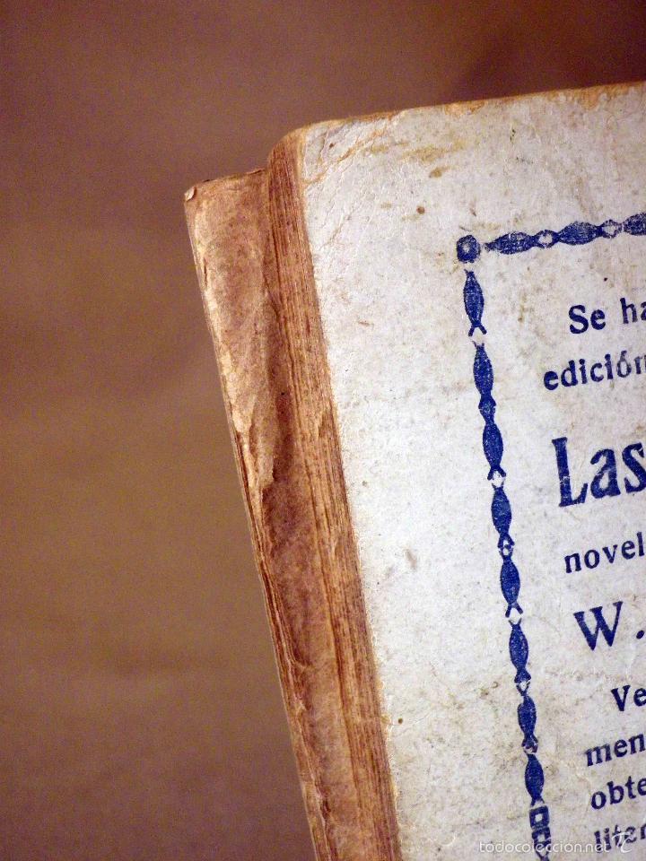 Libros antiguos: LA NOVELA DE HOY, Nº 266, ED. ATLANTIDA, LO HORRIBLE, EDUARDO ZAMACOIS, MADRID 1927 - Foto 4 - 56453112