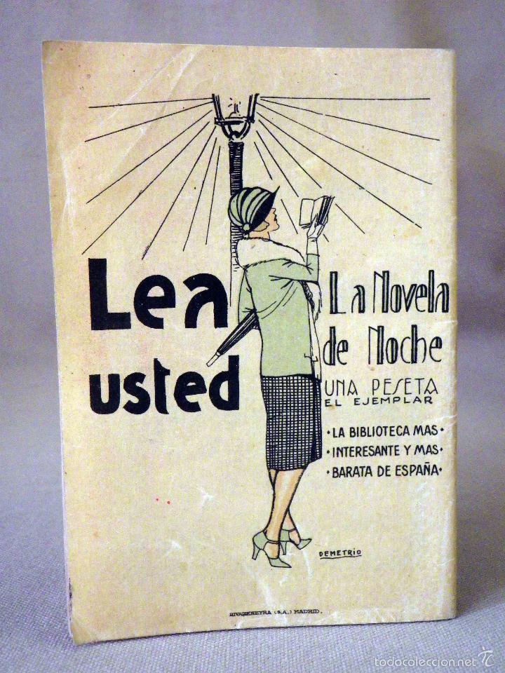 Libros antiguos: LA NOVELA DE HOY, Nº 522, ED. ATLANTIDA, LAS DOS MANOS DEL AMOR, ALBERTO INSUA, MADRID 1925 - Foto 3 - 56454608