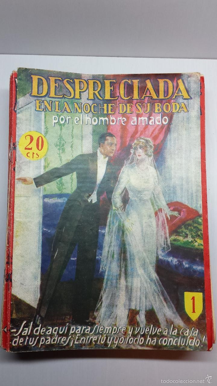 DESPRECIADA EN LA NOCHE DE SU BODA-DE HENRY DE TREMIERE-COLECCIÓN COMPLETA DE 38 UNIDADES (Libros antiguos (hasta 1936), raros y curiosos - Literatura - Narrativa - Novela Romántica)