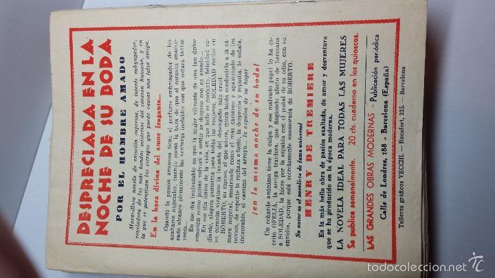 Libros antiguos: DESPRECIADA EN LA NOCHE DE SU BODA-DE HENRY DE TREMIERE-COLECCIÓN COMPLETA DE 38 UNIDADES - Foto 7 - 56511077