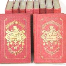 Libros antiguos: 7500 - LIBRAIRE HACHETTE. 10 VOLÚMENES. (VER DESCRIP). VV. AA. 1889-1922.. Lote 56695699