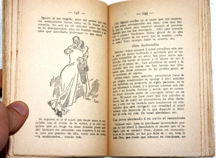 Libros antiguos: EL LIBRO DE LOS ENAMORADOS Y EL SECRETARIO DE LOS AMANTES. 1914 VALENTÍN DE LA RIOJA. ED. MAUCCI. - Foto 4 - 56974621