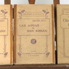 Libros antiguos: 7566 - EDITORIAL GARNIER HERMANOS. 3 VOLUM.(VER DESCRIP). VV. AA. 1891.. Lote 57098595