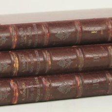 Libros antiguos: 7529 - LOS TRES MOSQUETEROS. TOMO I,II Y III. ALEJANDRO DUMAS. TIP. LUÍS TASSO. S/F.. Lote 148931153
