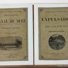 Libros antiguos: 7600 - GASPAR EDITORES. 2 EJEMPLARES. (VER DESCRIP). ERCKMANN CHATRIAN. 1883.. Lote 57303419