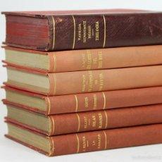 Libros antiguos: 7625 - EDITORIAL CATALANA. 6 VOLÚMENES. (VER DESCRIP). VV. AA. 1918/1923.. Lote 57376200