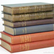 Libros antiguos: 7626 - TIPOGRAFÍA SUCESORES DE RIVADENEYRA. 6 VOLÚMENES. (VER DESCRIP) VV. AA. 1914/1923.. Lote 57377318