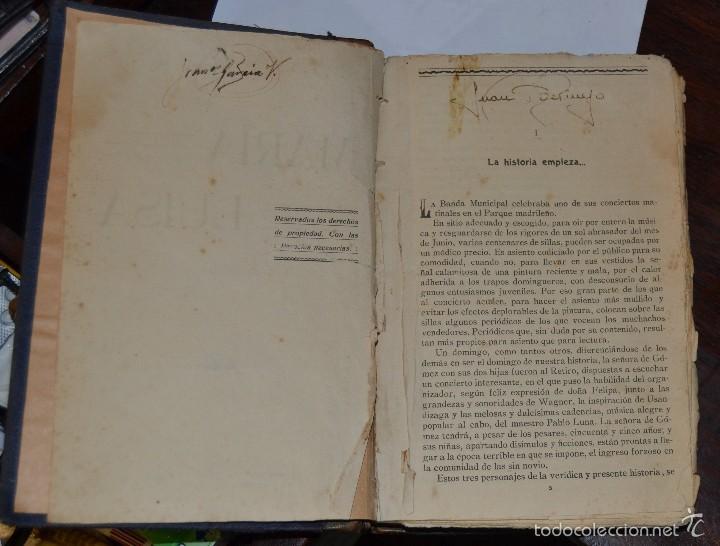 Libros antiguos: MARIA LUISA . NOVELA. GALLO DE RENOVALES. ESTABLECIMIENTO EDITORIAL IBERICA MADRID 1929 - Foto 4 - 57399608